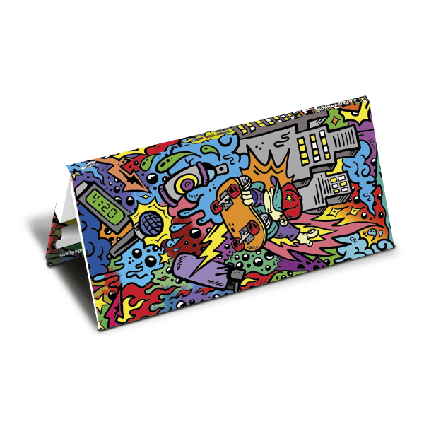 Rolling paper Booklet Pure Fun Doodle Urban Collection