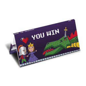 Rolling Papers in Save the Princess COLLECTION Booklet - You WIN