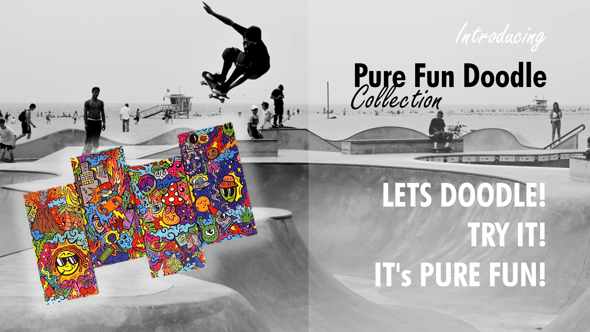 Introducing Pure Fun Doodle Rolling Papers Booklets