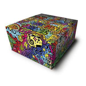 Rolling Papers in Pure Fun Doodle Collections Box
